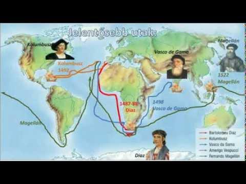 amerika felfedezése térkép Nagy földrajzi felfedezések   Bemutató a .tortenelem ppt.atw.hu  amerika felfedezése térkép