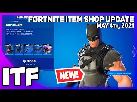 Fortnite Item Shop *NEW* BATMAN ZERO SET! [May 4th, 2021] (Fortnite Battle Royale)