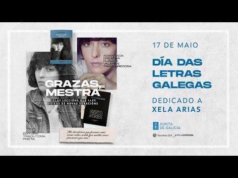 Día das Letras Galegas 2021, dedicado a Xela Arias