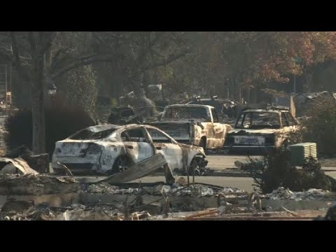 California fires: Santa Rosa, city devastated by flames