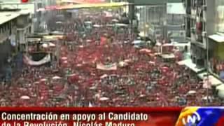 5 Abr 2013 Nicolás Maduro en Maracay, Aragua