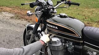 1973 Honda CB750 Candy Bacchus Olive
