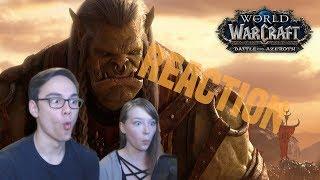 "World of Warcraft ""Reckoning"" Cinematic Reaction"