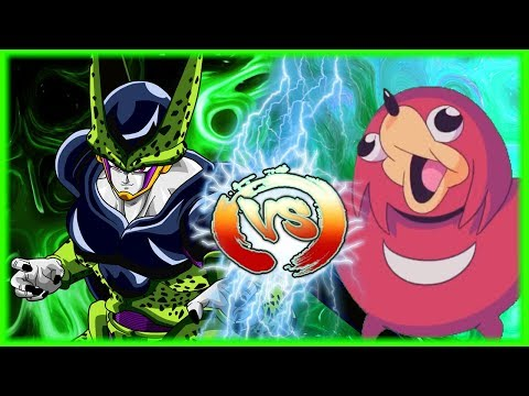 Perfect Cell Vs Ugandan Knuckles Part 4: The End Of The Meme