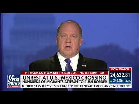 'They're Playing the Game': Homan Says Migrant Caravan Mostly Men Seeking Jobs, Not Women & Children