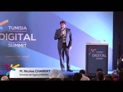 Social Selling avec Nicolas CHABERT au Tunisia Digital Summit