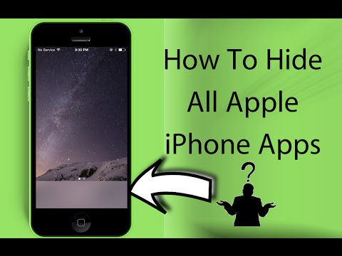 how to hide apps on iphone from others how to hide all iphone apps 20898