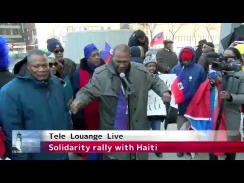 Solidarity Rally with HAITI-Friday, January 26th  at  Boston City Hall Plaza.