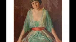 Aino Ackté sings A ma fiancee Myrthen, Op. 25: No. 1. Widmung  by Schumann,1903