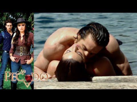 Mi Pecado - Capítulo 74: ¡Lucrecia Y Julián Se Entregan Al Amor!   Televisa