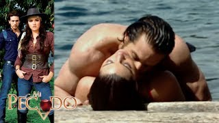 Mi Pecado - Capitulo 74 !Lucrecia y Julian se entregan al amor! Televisa