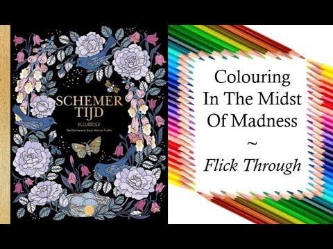 Schemertijd Kleurboek Skymningstimman By Maria Trolle
