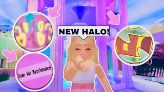 NEW SUMMER HALO?! IS THE WHEEL GONE? TRADING NEWS! ROYALE HIGH UPDATE! (Roblox)
