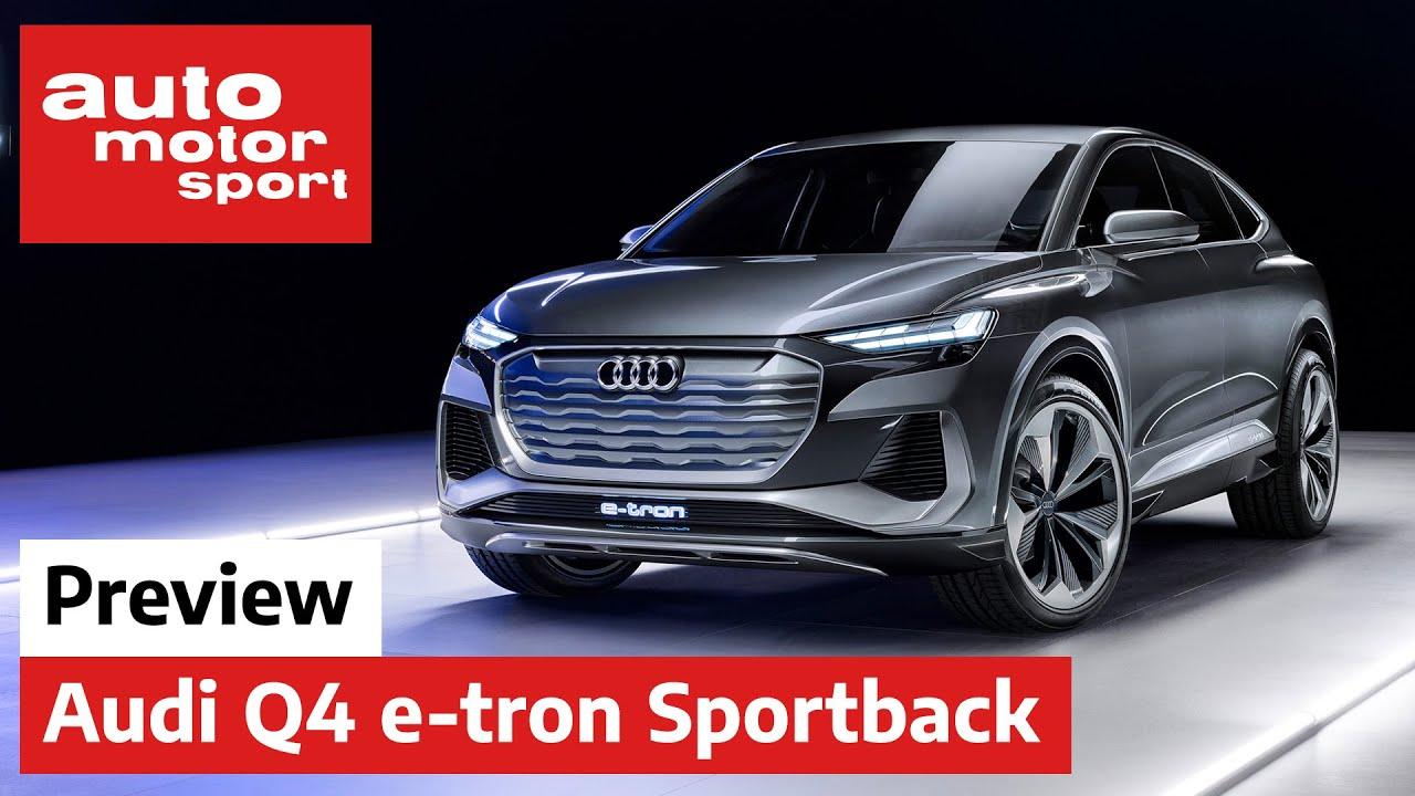 Audi Q4 e-tron Sportback concept: Wieder ein Elektro-SUV - Review | auto motor und sport