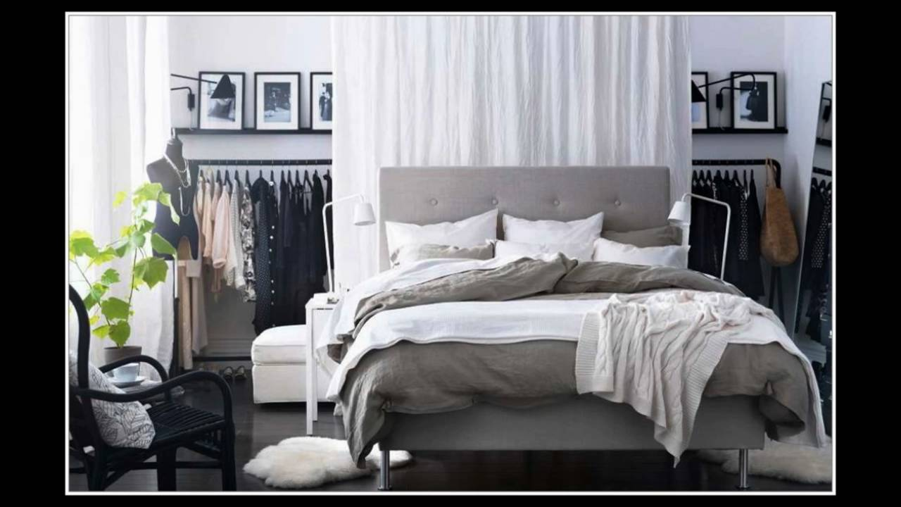 11 wandgestaltung schlafzimmer grau youtube. Black Bedroom Furniture Sets. Home Design Ideas