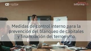 Blanqueo de capitales: medidas de control interno | Asesor Informa 3.0