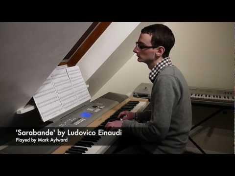 Ludovico Einaudi - Sarabande (Piano Cover) (In a Time Lapse - 17.)