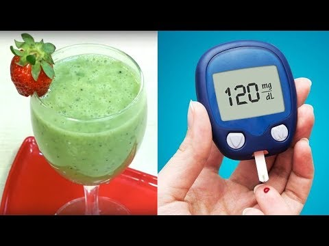 Homemade Smoothie for Control Diabetes | Juice for Diabetes | Best Diabetes Control Juice | Diabetes