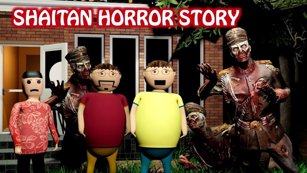 Download Gulli Bulli Aur Shaitan Horror Story Part 1    Shaitan Horror Story Short Film    Scary Toons    Mjh