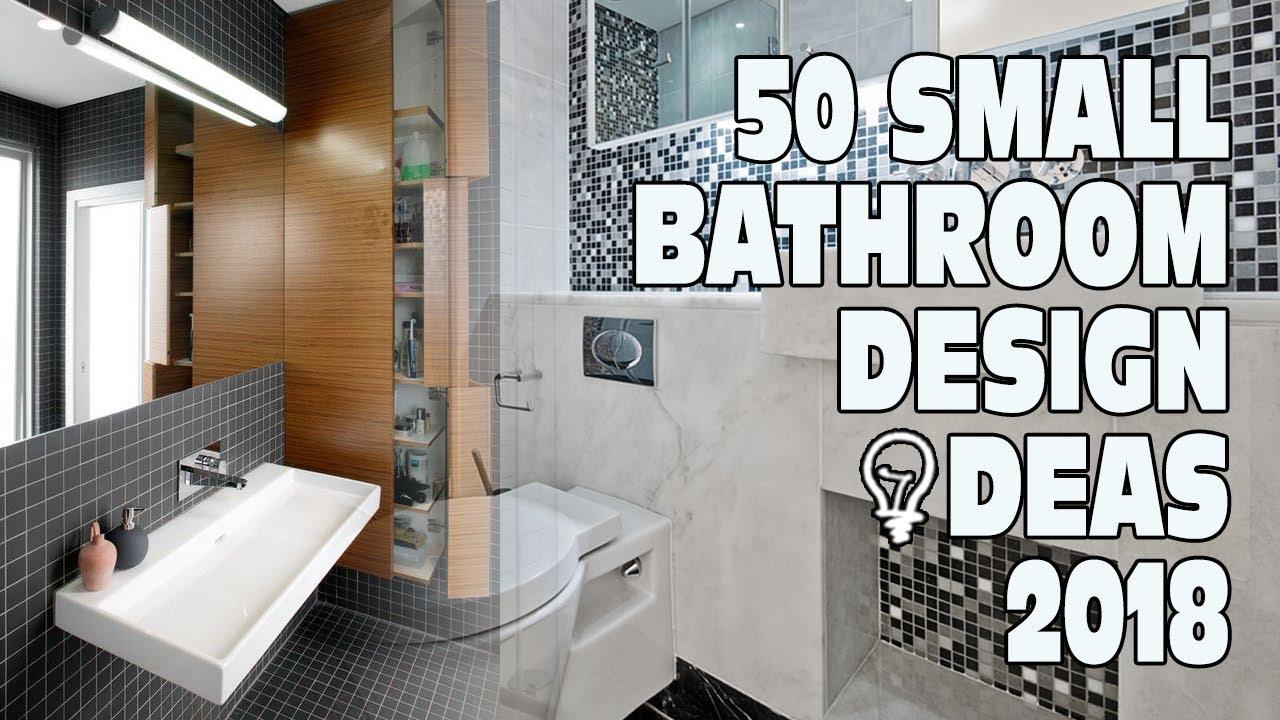 50 Small Bathroom Design Ideas 2018 - YouTube