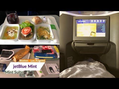 America's Best Domestic First Class! Jetblue Mint Suite | Boston - Los Angeles | Trip Report