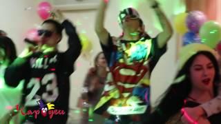 Монатик Кружит на детском празднике в Днепре от студии