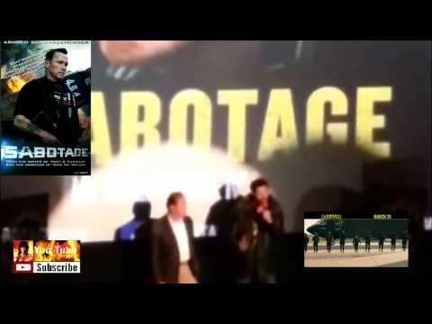 Arnold Schwarzenegger @ the SABOTAGE Premiere in CHICAGO 2014.03.03 (VERSION #1)