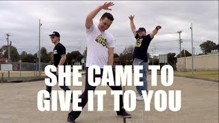 SHE CAME TO GIVE IT TO YOU - Usher Dance Choreography   Jayden Rodrigues NeWest