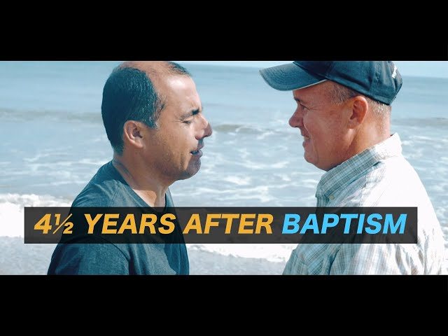 4½ Years After Baptism - Claudio Yanez has baptized 60 others