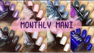 MAY 2018 MONTHLY MANIS // NAIL OF THE MONTH [GIVEAWAY CLOSED]