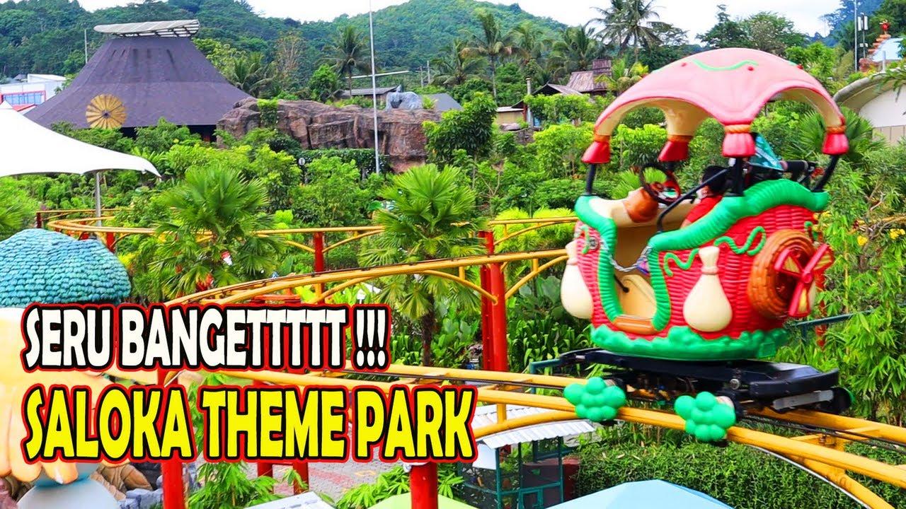 Serunya Naik Kumbang Layang, Jamur Apung, Bianglala Cakrawala di Saloka Theme Park (Bagian 1)