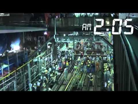 Japón: Convierten Tren en Metro en tres horas