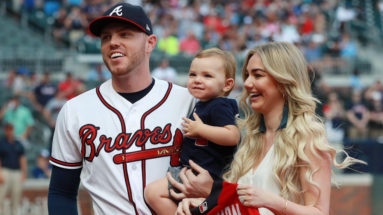 Atlanta Braves first baseman Freddie Freeman is doing his mother ...