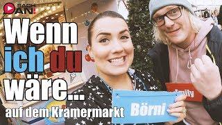 WENN ICH DU WÄRE auf dem Kramermarkt Oldenburg mit Börni |► SACH AN