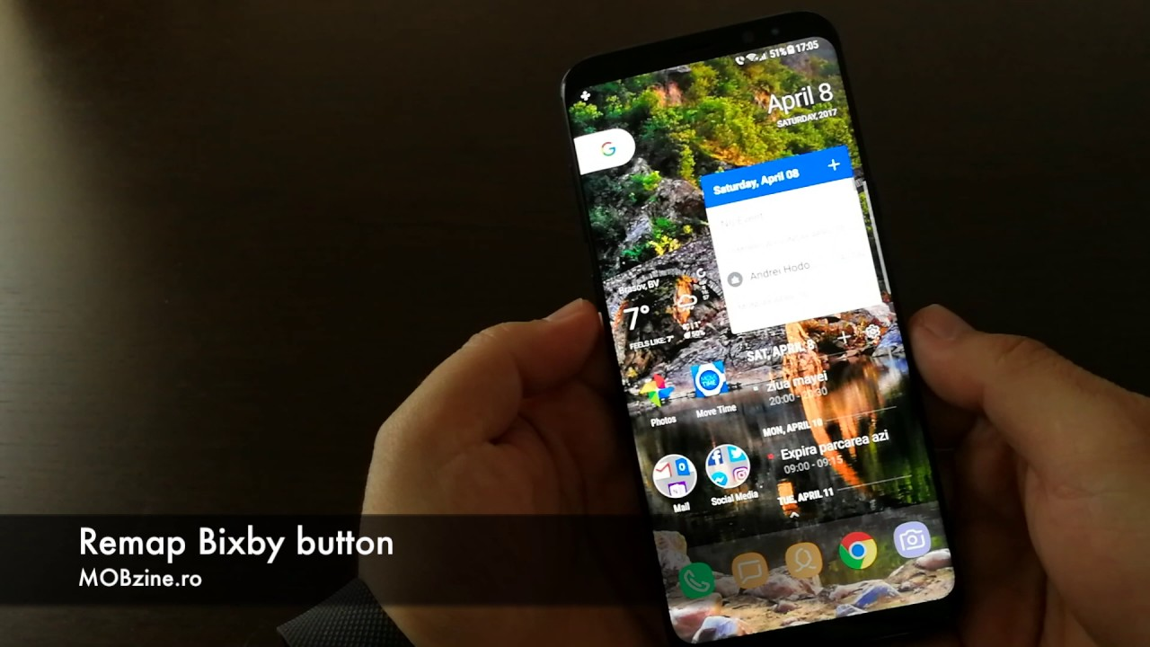 Single, double or long press? How to remap the Galaxy S8