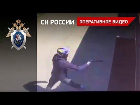Место убийства предпринимателя в Солнечногорском районе