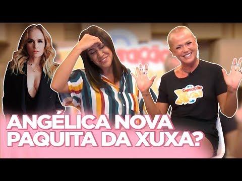 XUXA RESPONDE: RIVALIDADE COM ANGÉLICA SASHA E BRUNA BAGUNCEIRAS ZOEIRAS NO WHATS  Foquinha