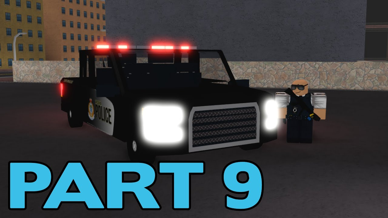 ROBLOX Vancouver Police Patrol Part 9 | Foot Pursuit!