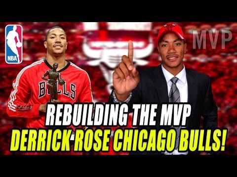 REBUILDING THE MVP DERRICK ROSE CHICAGO BULLS! NBA 2K17 MY LEAGUE