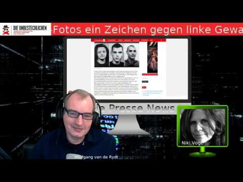 Freie Presse News:  Serie von Frauenmorden in Österreich - IB setzt Zeichen gegen linke Gewalt u.a.