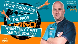 Blind Darts 🤣 ft. Rob Cross