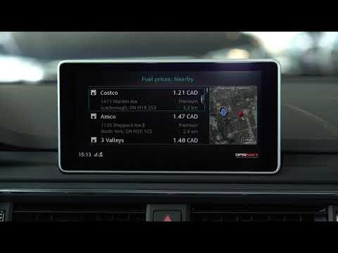 Audi Connect - Fuel Prices | Audi Canada