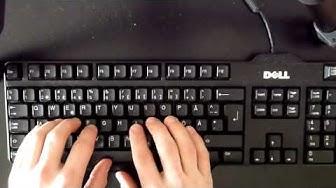 Tietokoneen käyttöä näppäimistöllä, johdanto