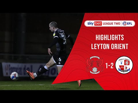 Leyton Orient Crawley Town Goals And Highlights