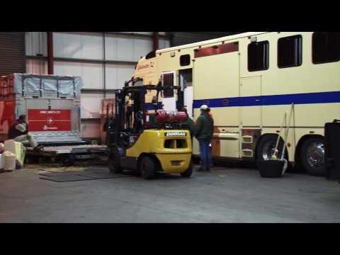 Glasgow Prestwick Facilitates the Air Transport of 15 Horses