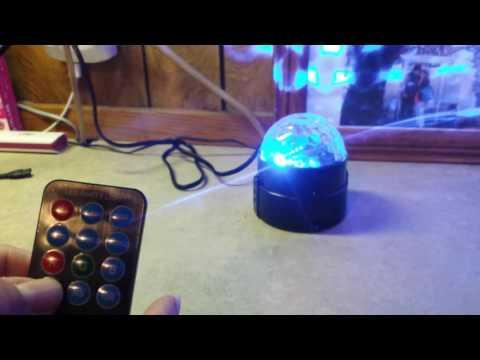 Spriak Party Lights Disco Ball 3w Led Strobe