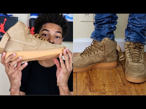 "Air Force 1 High ""Wheat"" 🔥🔥