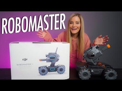 This Robot is SO fun! New DJI Robomaster S1