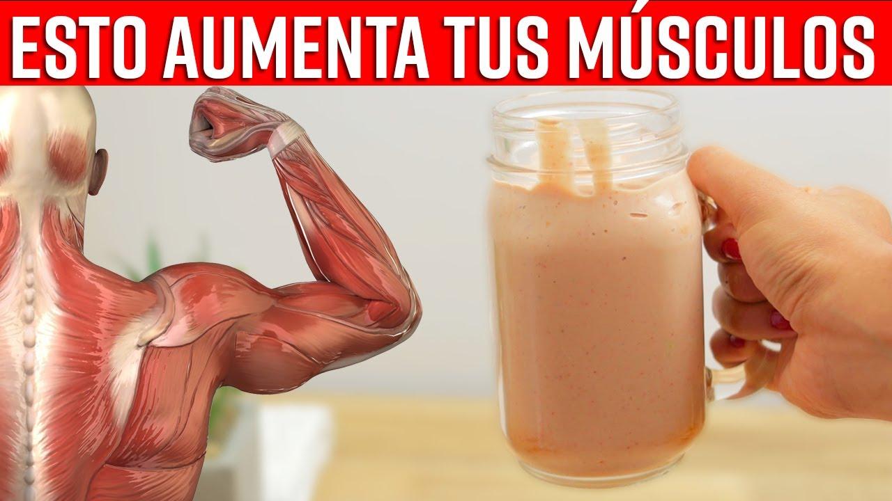 Toma Este Delicioso Batido Para Aumentar Tu Masa Muscular En Muy Poco Tiempo