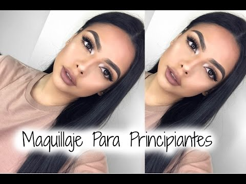 Maquillaje Para Principiantes/ Beginners Make Up | Andrea Roman